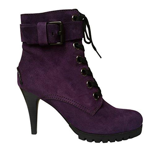Kennel & Schmenger , Bottes Classiques femme Purple Nubuck Suede