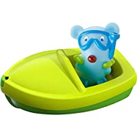 HABA 303865 Bath Toy with Finger Puppet, Bath Toy for Age 18 Months and Above