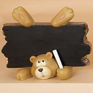 Teddy bear bloc notes pour enfant tableau noir tableau for Tableau noir pour enfant