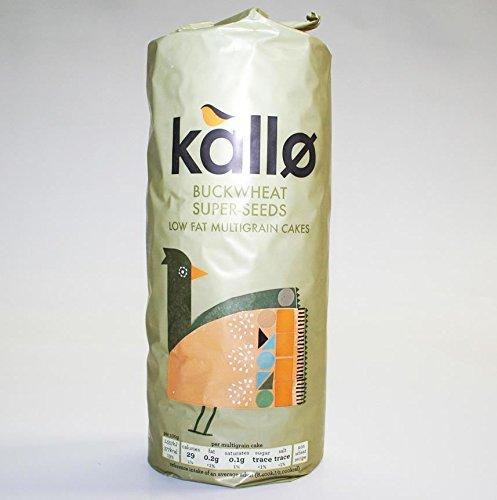 Kallo | Buckwheat/Super Seed Ricecakes | 4 x 130g