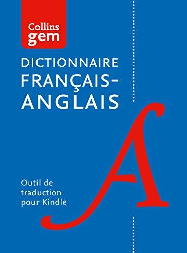 Dictionnaire (unidirectionnel) français – anglais Gem Edition (Collins Gem)