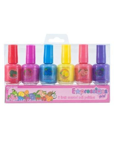 Expressions Girl 6 pezzi, profumati alla frutta di smalto per unghie