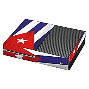 DeinDesign Skin kompatibel mit Microsoft Xbox One Aufkleber Folie Sticker Kuba Flagge Flag