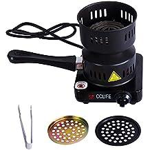 CCLIFE Hornillo eléctrico cachimba carbón Shisha Encendedor eléctrico cachimba shisha, ...