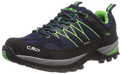 CMP Campagnolo Herren Rigel Trekking-& Wanderhalbschuhe, Blau (B.Blue-Gecko), 45 EU