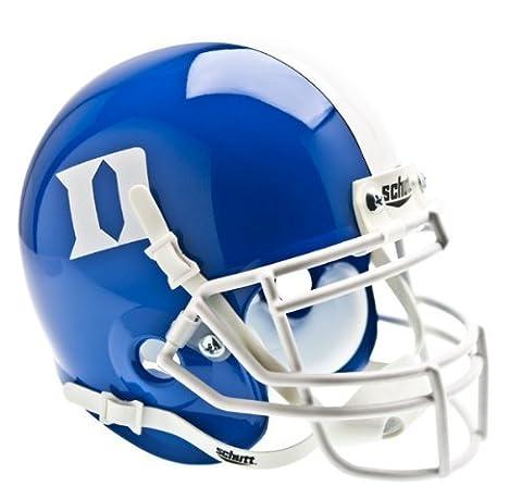 NCAA Duke Blue Devils Collectible Alt 1 Mini Helmet, Blue by Schutt