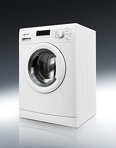 Bauknecht WAK 83 Waschmaschine FL / A+++ / 193 kWh/Jahr / 1400 UpM / 8 kg / 11000 L/Jahr / Mengenautomatik /Unterbaufähig / weiß - 11