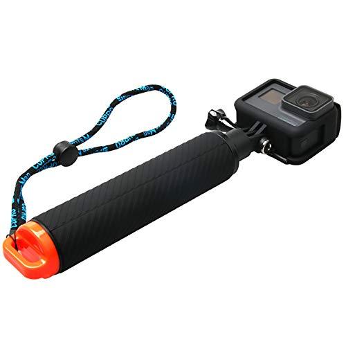 ehmen mit Vlog Das Ende der Klammer verhindert Jitter Tägliches Aufnehmen Kompatibel mit Mehreren Kameratypen wasserdichte, tragbare, Rutschfeste Gummiauflage ()