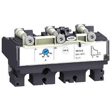 SCHNEIDER ELEC PBT - PAC 55 01 - UNIDAD CONTROL TM25G 3 POLOS 3R NSX100-250