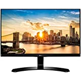 LG 22 inch (55.88 cm) LED Monitor - Full HD, IPS Panel with VGA, HDMI, DVI, Heaphone Ports - 22MP68VQ (Black)