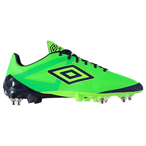 Umbro Hommes Velocita Pro Sg Chaussures De Football Tige Synthétique Crampons Vert/Navy