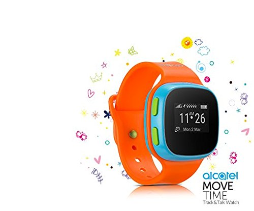 ALCATEL MOVE TIME Kids watch SW10 (orange) - ITALIA