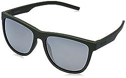 Polaroid Polarized Square Unisex Sunglasses - (PLD 6014/S RP3 56LM|56|Grey Color)