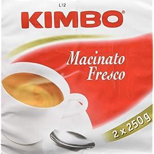 Kimbo Fresco Caffè Macinato, tostatura scura - 500 gr