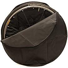 "Porta Ruota. Ruote gommate fino a 28""; ideale per bici / bicicletta RACE / Corsa / Gravel. Borsa da bici. Sacca da bici. MADE IN ITALY (TEC_23)"