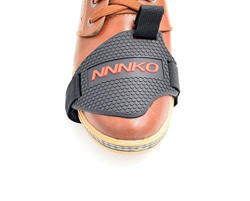 Protección Protector de zapato para palanca de cambio Botas Zapatos Cambio Moto Motocicleta de goma