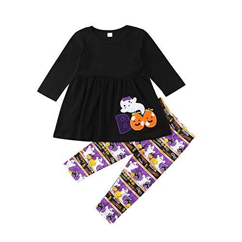1 Million Kostüm Dollar - Wang-RX Kleinkind Kinder Baby Mädchen Outfits Kleidung Ghost Langarm Tops Kleid Hosen Halloween Kostüm Kleidung Set