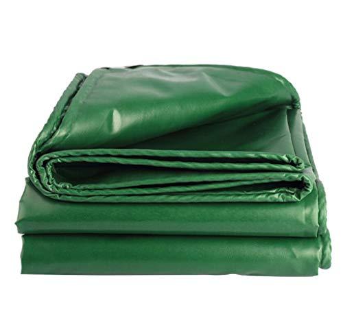BYCDD Super Heavy Duty Plane, Zelt Shelter Cover Wasserdichte Plane Bodenabdeckungen,Green_2x1.5m