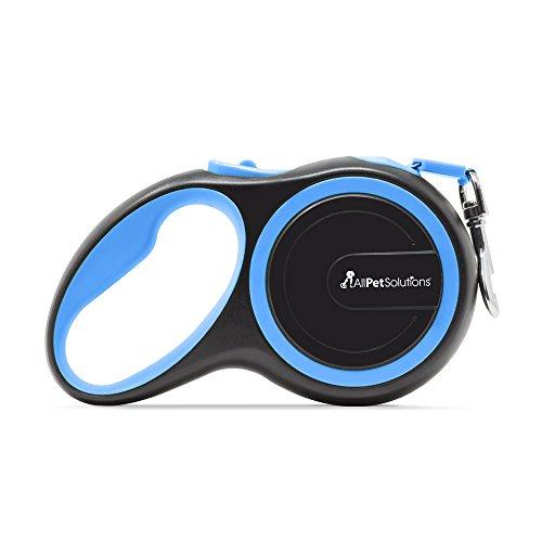 allpetsolutions DOG-L-R-8M-Blau Roll-Hundeleine, L, blau