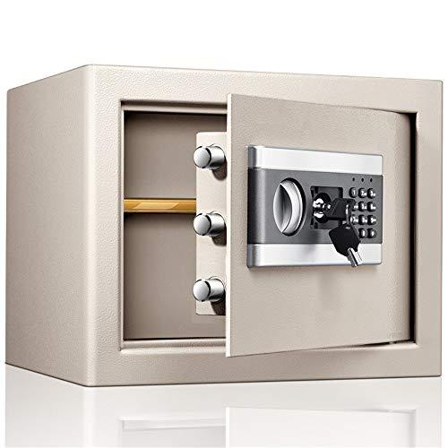 Caja de Seguridad Duradera Contraseña 30cm Alto Y Electrónica Pequeña Caja Fuerte Safe Deposit Box...