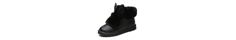 ZHZNVX HSXZ Zapatos de Mujer Otoño Invierno PU Confort Nieve Botas Botas Planas Botas de Tacón Botines/Tobillo... -