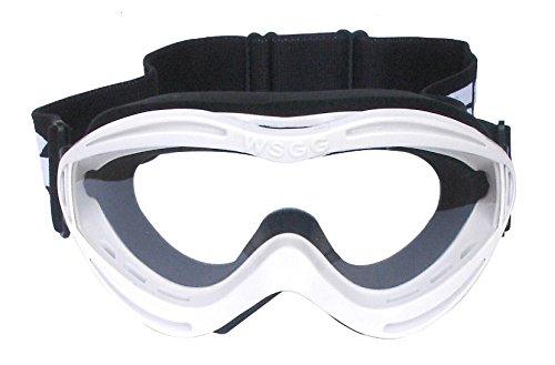 Bike It–WSGG–GP Pro Motocross Offroad Kinder Brillen in weiß
