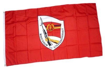 Fahne / Flagge DDR Staatssicherheit NEU 90 x 150 cm