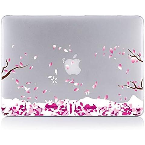 Macbook Pro 13 pollici with retina display Custodia , TUTUWEN Elegante Ultra Sottile Trasparente Plastica Cover rigida per Apple MacBook Pro 13-pollici with Retina Display (A1502 / A1425)