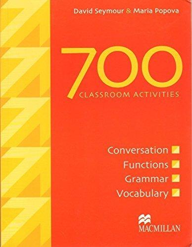 700 Classroom Activities by D Seymour (2003-05-04)
