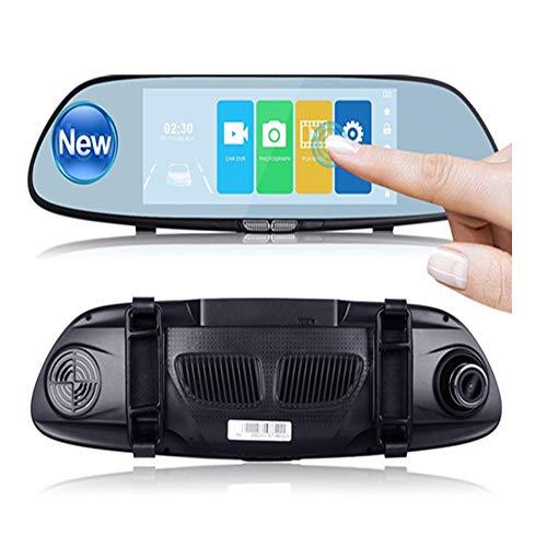 hirm HD 1080P Auto-Videogerät 170 Grad-Weitwinkel-Armaturenbrett-Kamera, Auto-DVR-Fahrzeug-Schlag-Nocken mit Nachtsicht-weitem Winkel, WDR, Schleifen-Aufnahme ()