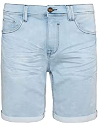 Urban Surface Herren Sweat Jeans-Shorts | Kurze Hose aus bequemen Sweat in Jeansoptik