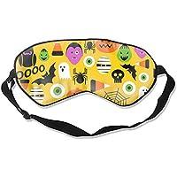 Schlafmaske mit Halloween-Muster, für Damen, Herren, Mädchen, Erwachsene, Augenmaske, Augenbinde, Sonnenschutz... preisvergleich bei billige-tabletten.eu