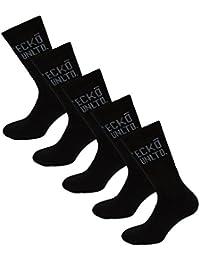 Lot de 5 paires de chaussettes Ecko pour homme en noir