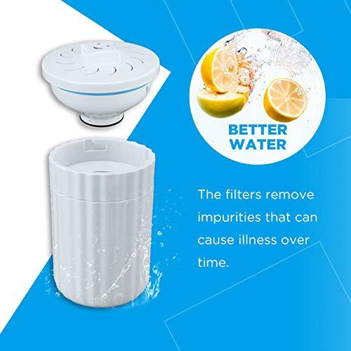 Sediment-filter Tank (Comfee Ersatz-Wasserfilterkartuschen-Set - Aufsatz-Wasserfilter und -reinigungssystem, um Chlor und Bakterien zu reduzieren)