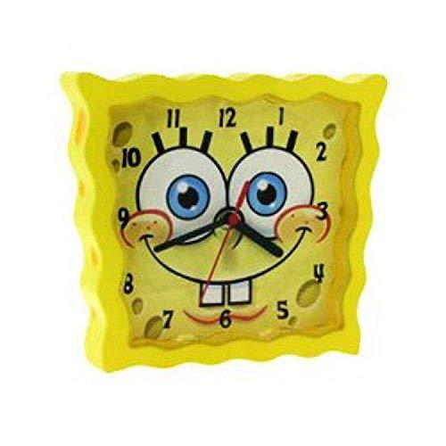 Spongebob sbclk01–Reloj de pulsera, correa de plástico color amarillo