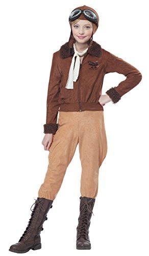 Amelia Earhart Aviator Kids Costume