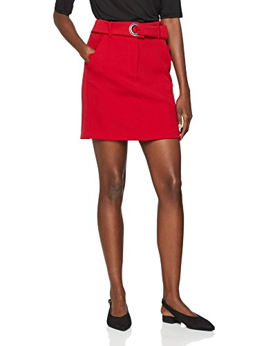 Armani Exchange Damen 6ZYN10 Rock, Rot (Bloody Mary 1445), Medium (Herstellergröße: 6)