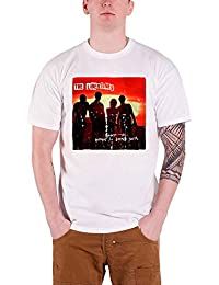 Libertines The Mens T Shirt White Anthems for Doomed Youth Official