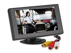 TaoTronics® TT-CM05 4,3 Zoll PAL/NTSC modische Digital MIni Klar TFT LCD Monitor