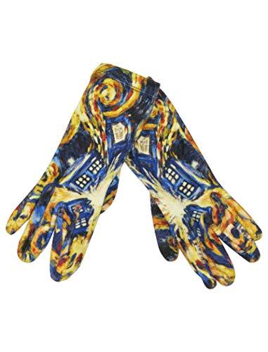 (Doctor Who TARDIS Explodiert (The Pandorica Opens) Handschuhe für Damen - Offizielle Ware by LOVARZI)