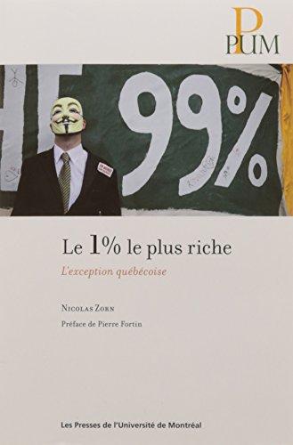 Le 1 % le plus riche : L'exception québécoise