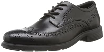 Geox U Dublin, Men's Brogue, Black (Black), 6 UK (39 EU)