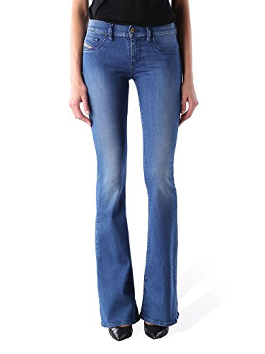 DieselLIVIER-FLARE - Jeans Bootcut - 0673V (Flare Denim Jeans Bootcut)