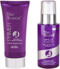 BLUE HEAVEN COMBO OF MAKE UP PRIMER &MAKE-UP FIXER .(OIL-FREE &NON GREASY).