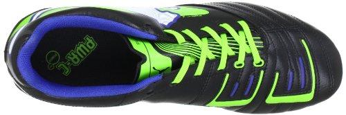 Puma Powercat 4 R Hg, Chaussures de football homme Noir - Schwarz (black-jasmine green-monac 01)
