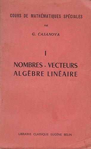nombres-vecteurs-algbre-linaire