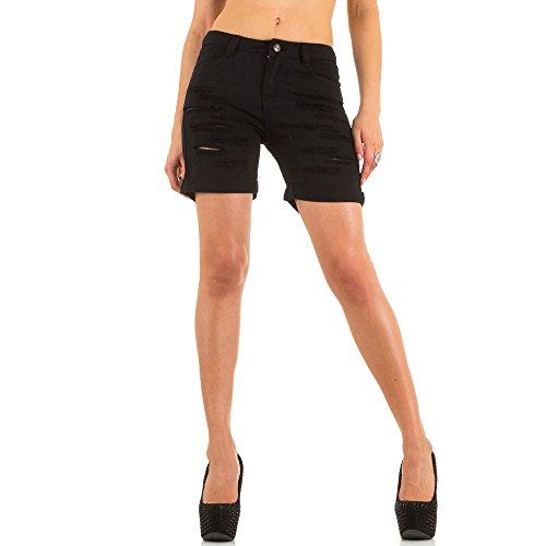 Ital-Design -  Pantaloncini  - Donna Nero