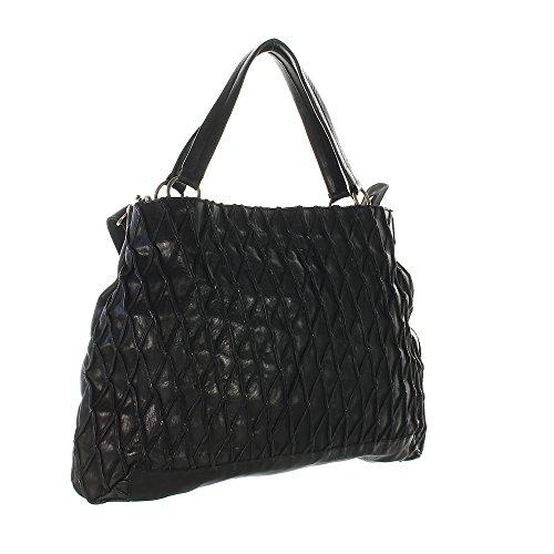 Another Bag , Sac pour femme à porter à l'épaule noir schwarz