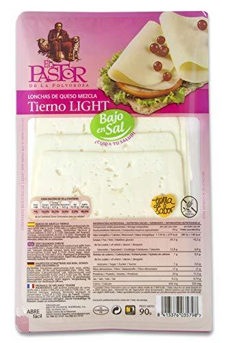 El Pastor Queso El Pastor Tierno Light Lonchas 115 g