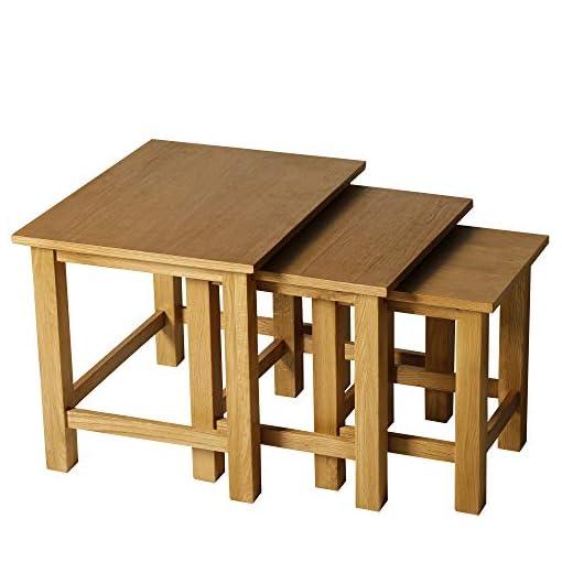 Tavolini Da Salotto Impilabili.Homcom Set 3 Tavolini Da Caffe Da Salotto Soggiorno Ad